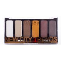 Revers Cosmetics, New City Trends, Professional Eyeshadow Palette (Paleta 6 cieni do powiek)