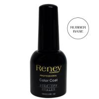 Reney Cosmetics, Professional, Color Coat Soak-off UV/LED Rubber Base Cover (Baza hybrydowa)