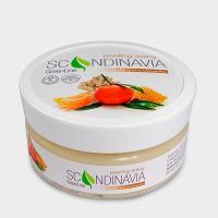 Scandinavia, Green Line, Peeling solny `Imbir z mandarynką` (Peeling solny imbir z mandarynką)