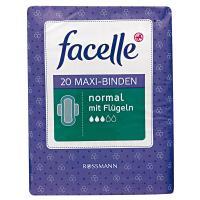 Facelle, Maxi-Binden Normal mit Flugeln (Podpaski higieniczne ze skrzydełkami)
