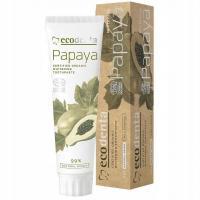 Ecodenta, Papaya Whitening Toothpaste (Wybielająca pasta do zębów z papają)