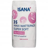 Isana, Maxi Watepads Super Soft (Płatki kosmetyczne maxi super miękkie)