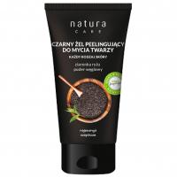 Natura Care, Czarny żel peelingujący do mycia twarzy
