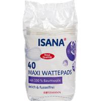 Isana, Maxi Wattepads (Płatki kosmetyczne)