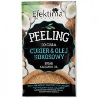 Efektima, Peeling do ciała `Cukier i olej kokosowy`
