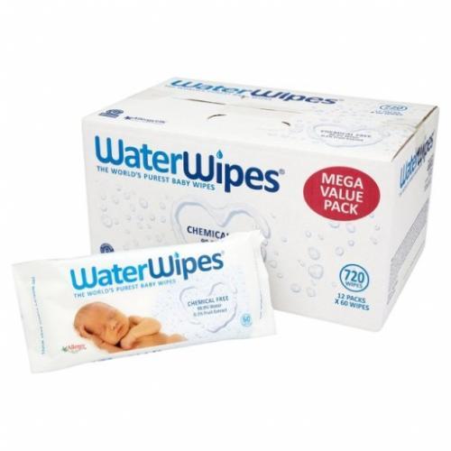 WaterWipes, Chusteczki nawilżane czystą wodą