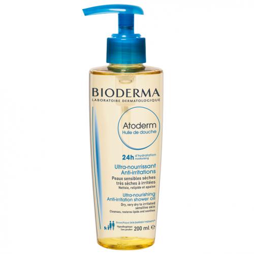 Bioderma, Atoderm, Huile de Douche (Nawilżający olejek do kąpieli i pod prysznic)