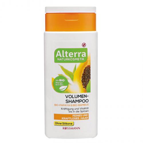Alterra, Volumen - Shampoo Papaya & Bambus (Szampon dodający objętości `Papaja i bambus`)