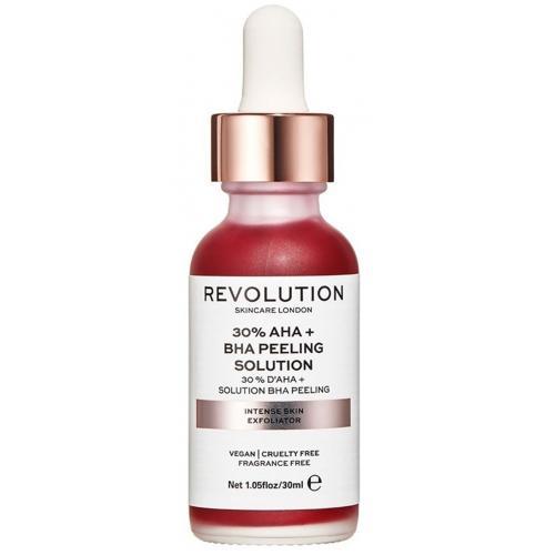 Revolution Skincare, Skin Intense Exfoliator 30 % AHA+BHA Pelling Solution (Intensywnie naprawczy peeling do twarzy z 30% kwasem AHA+BHA)