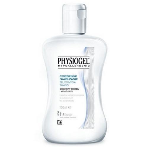 Physiogel, Hypoallergenic, Codzienne Nawilżanie, Żel do mycia twarzy do skóry suchej i wrażliwej