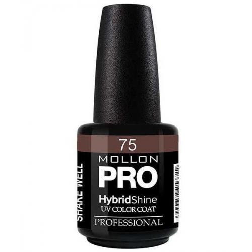 Świeże Mollon Cosmetics, PRO, Hybrid Shine UV Color Coat (Lakier ZD37