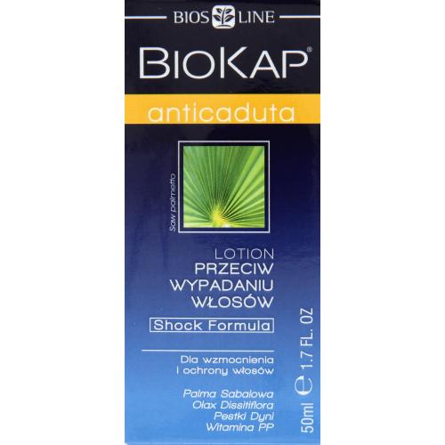biokap lotion przeciw wypadaniu włosów opinie