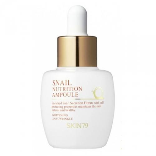 SKIN79, Snail Nutrition, Ampoule (Ampułka z koncentratem ze śluzu ślimaka)