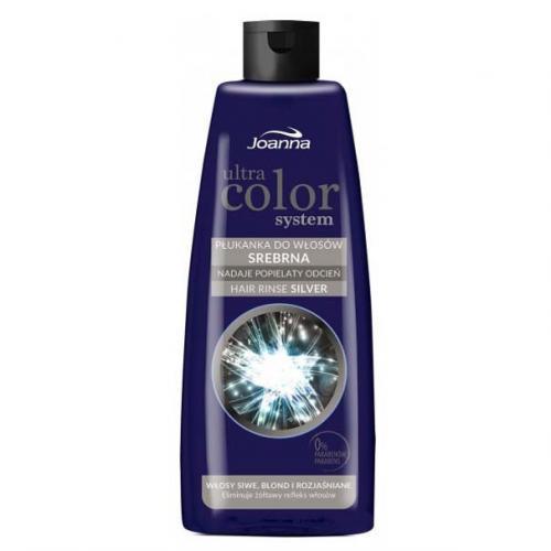 Joanna, Ultra Color System, Płukanka do włosów srebrna