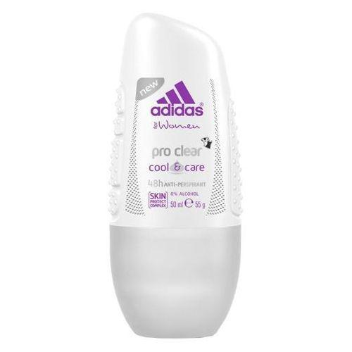 Adidas, for Women, Cool & Care, Pro Clear Roll On (Antyperspirant w kulce)