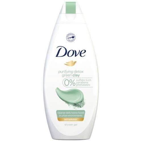 Dove, Purifying Detox, Green Clay Shower Gel (Oczyszczający żel pod prysznic `Zielona glinka`)