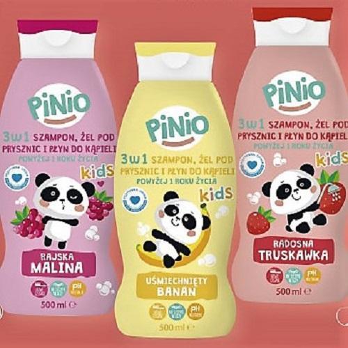Global Cosmed Pinio 3 W 1 Szampon żel Pod Prysznic I Płyn Do Kąpieli Rózne Rodzaje