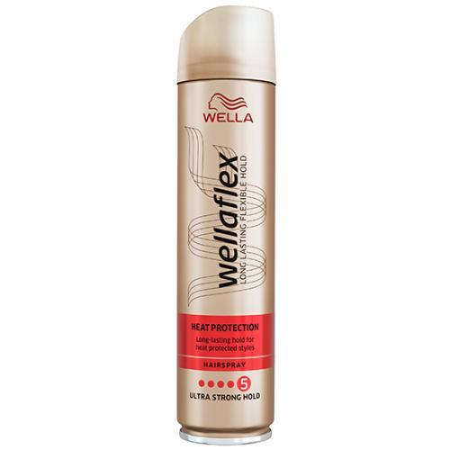 Wella Wellaflex Heat Creations Hairspray Maksymalnie Utrwalający Lakier Do Włosów