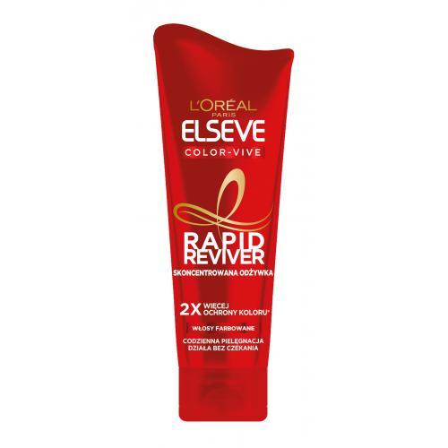 L`Oreal Paris, Elseve Rapid Reviver, Color-Vive, Skoncentrowana odżywka do włosów farbowanych
