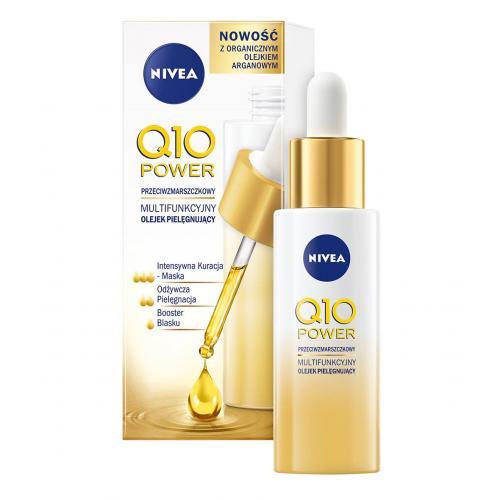 Nivea, Q10 Power, Przeciwzmarszczkowy multifunkcyjny olejek pielęgnujący