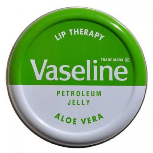 Vaseline, Lip Therapy, Petroleum Jelly Aloe Vera (Regenerujący balsam do ust 'Aloes')