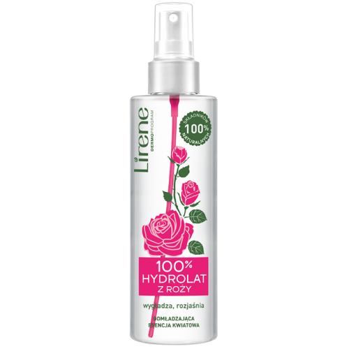 Lirene Dermoprogram, 100% hydrolat z róży