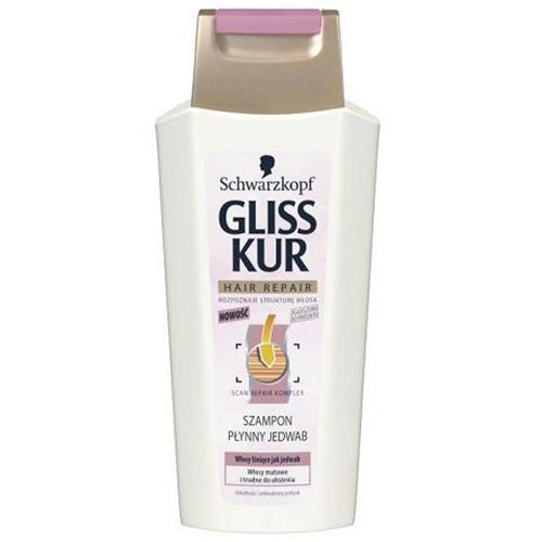 Schwarzkopf Gliss Kur, Połysk Jedwabiu, Szampon do włosów matowych i zniszczonych