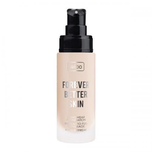 Wibo, Forever Better Skin Longwear Foundation (Długotrwały podkład o średnim- naturalnym poziomie krycia)