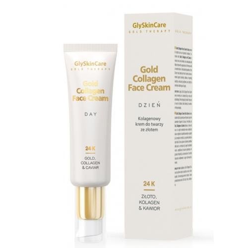 Glyskincare Gold Collagen Face Cream Day Kolagenowy Krem Do Twarzy Ze Zlotem Na Dzien Cena Opinie Recenzja Kwc