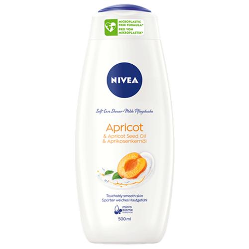 Nivea, Soft Care Shower Apricot & Apricot Seed Oil (Pielęgnujący żel pod prysznic `Morela i olej z nasion moreli`)