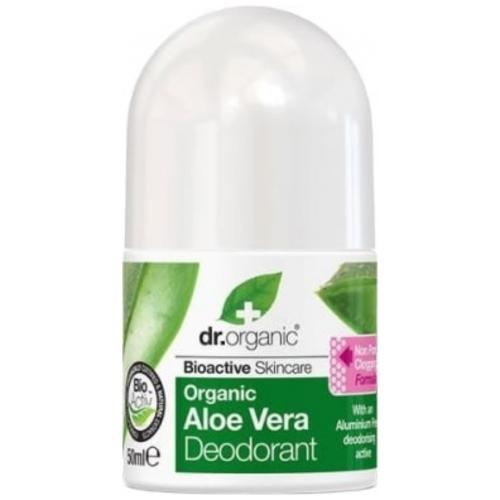 Dr.Organic, Bioactive Skincare, Organic Aloe Vera Deodorant (Dezodorant w kulce z organicznym aloesem)