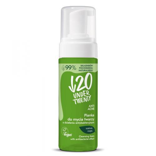 Under Twenty, Vegan, Pianka do mycia twarzy `Anti - Acne`