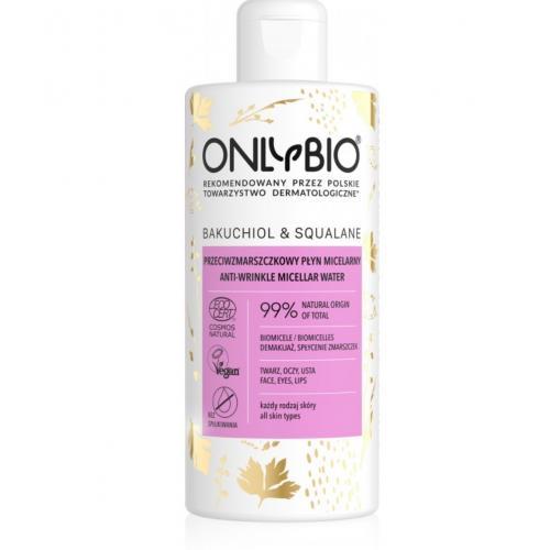 OnlyBio, Przeciwzmarszczkowy płyn micelarny `Bakuchiol & Skwalan`