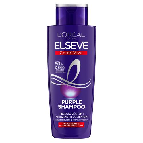 L`Oreal Paris, Elseve, Color-vive Purple Shampoo (Szampon przeciw żółtym i miedzianym odcieniom)