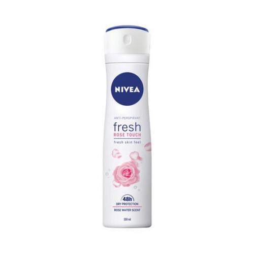 Nivea, Fresh Rose Touch, Anti-perspirant Spray 48h (Antyperspirant w sprayu dla kobiet)