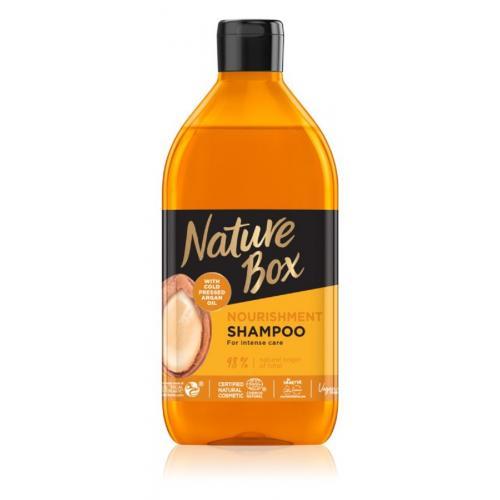 Nature Box, Szampon do włosów z olejem arganowym