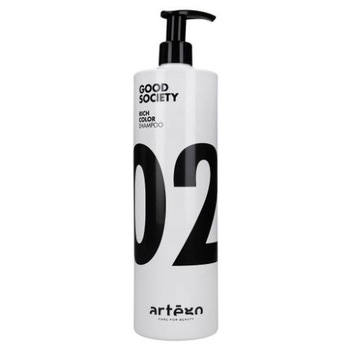 Artego, Good Society 02 Rich Color Shampoo (Szampon do włosów farbowanych)