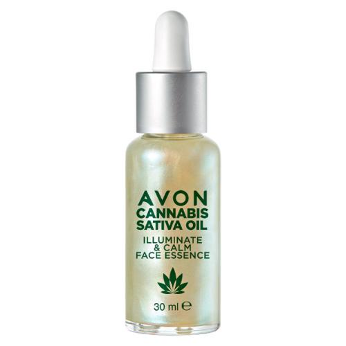 Avon, Cannabis Sativa Seed Oil Illuminate & Calm Face Essence (Esencja do twarzy z olejem konopnym)