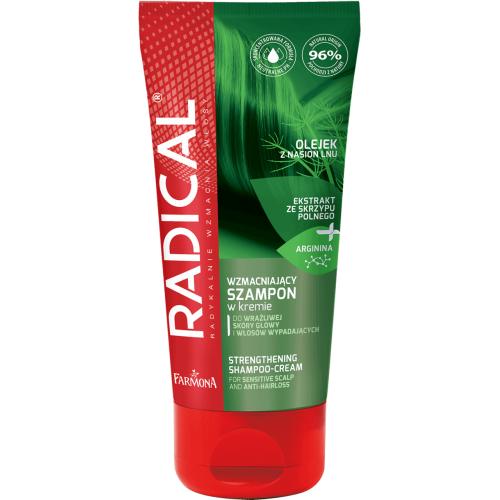 Radical, Wzmacniający szampon w kremie