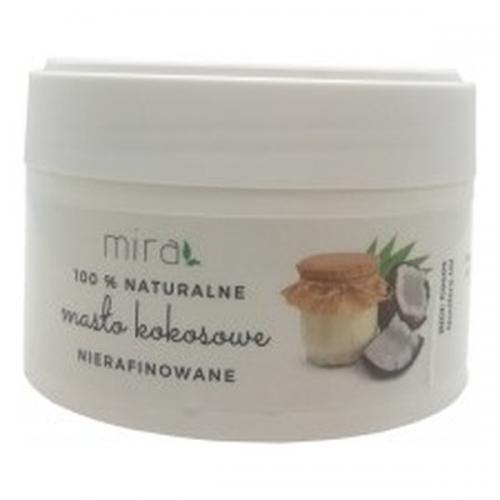 Mira, Naturalne masło kokosowe nierafinowane