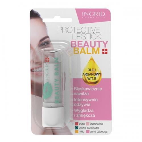 Ingrid Cosmetics, Protective Lipstick Beauty Balm (Pomadka ochronna do ust (różne rodzaje))