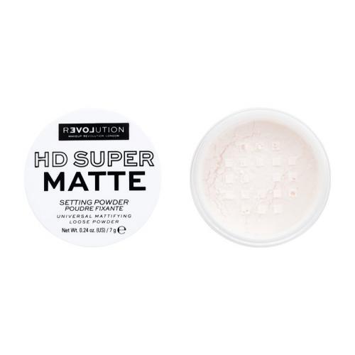 Relove by Revolution Beauty, HD Super MAtte Loose Powder (Sypki puder rozświetlający)