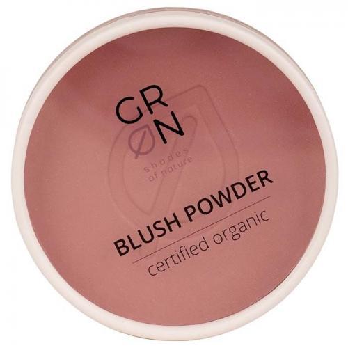 GRN - Shades of Nature, Blush Powder (Naturalny róż do policzków)