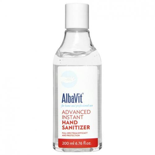 Alba 1913, Albavit Advanced Instant Hand Sanitizer (Żel antybakteryjny do rąk)