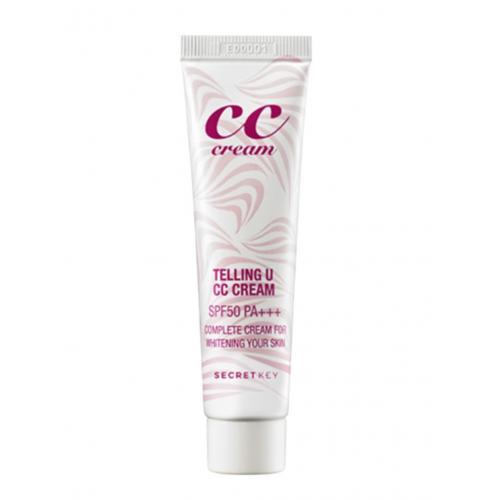 Secret Key, CC Cream  Telling U SPF 50 (Krem CC do twarzy SPF 50)