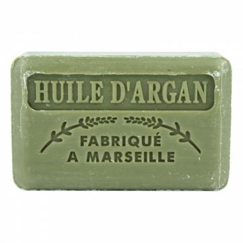 Fabrique a Marseille, Huile D'argan Savon de Marseille (Mydło marsylskie z masłem Shea `Olejek arganowy`)