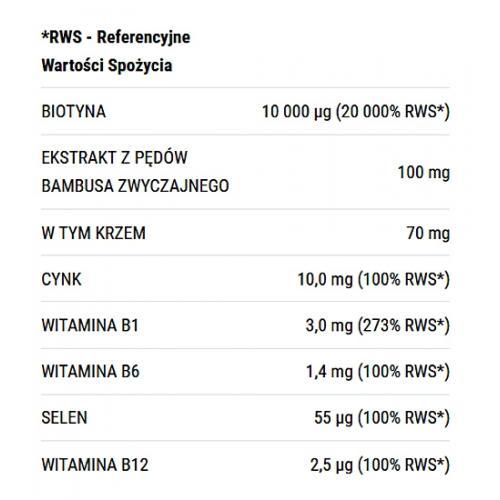 Twój Cel to, Gęste i długie włosy, Biotyna 10 mg