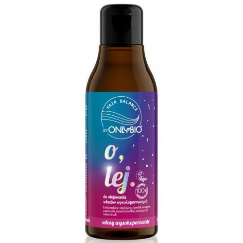 OnlyBio, Hair Balance, Olej do olejowania włosów wysokoporowatych