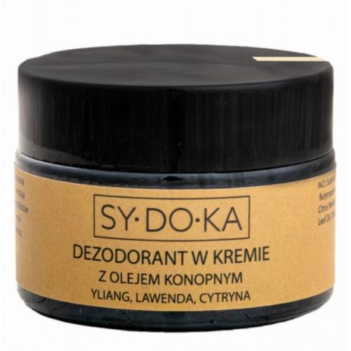 Sydoka, Dezodorant w kremie z olejem konopnym