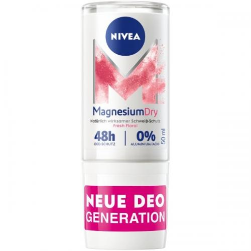 Nivea, MagnesiumDry Fresh Floral, Dezodorant w kulce (Dezodorant w kulce z aktywnym magnezem bez aluminium)